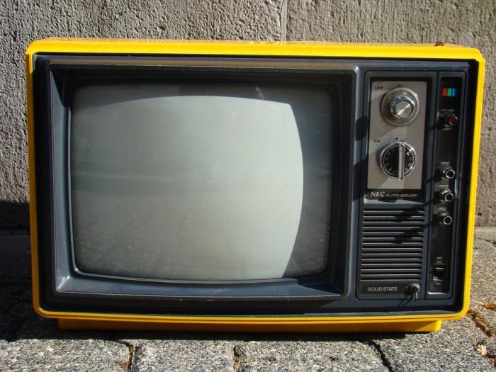 TV antiga (Imagem por stevestein1982)