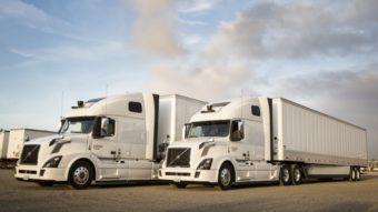 Uber atualiza visual e sensores de sua frota de caminhões autônomos
