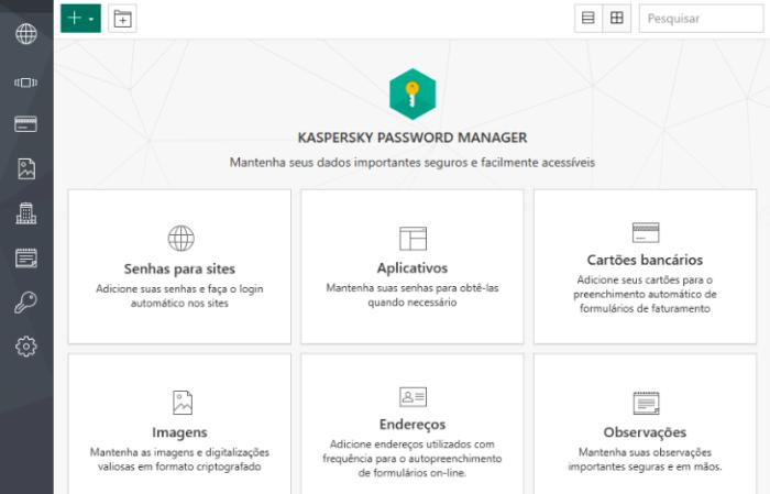 Gerenciador de senhas Kaspersky Password Manager (Imagem: Divulgação/Kaspersky)