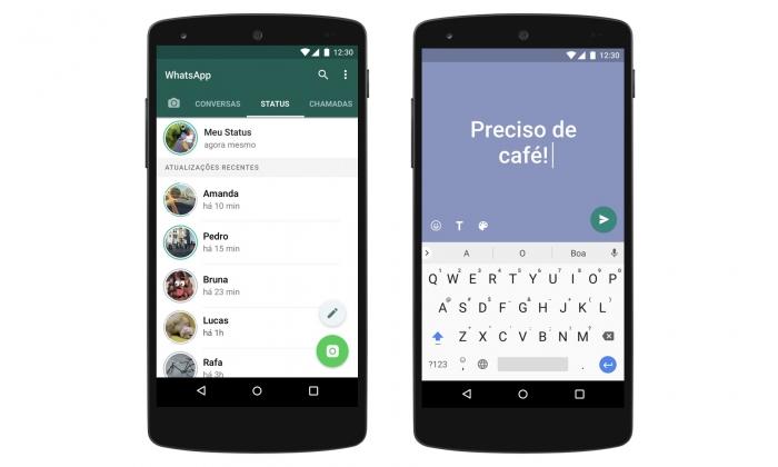 Whatsapp Status Ganha Mensagens Coloridas Em Texto Semelhantes Ao