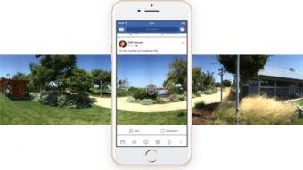 Como postar fotos 360º no Facebook