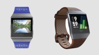 Fitbit Ionic é um smartwatch com GPS, monitor cardíaco e design peculiar