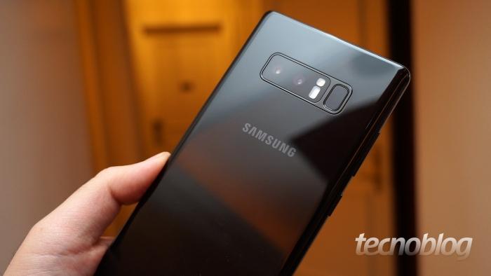 Samsung lança Galaxy Note 8 no Brasil
