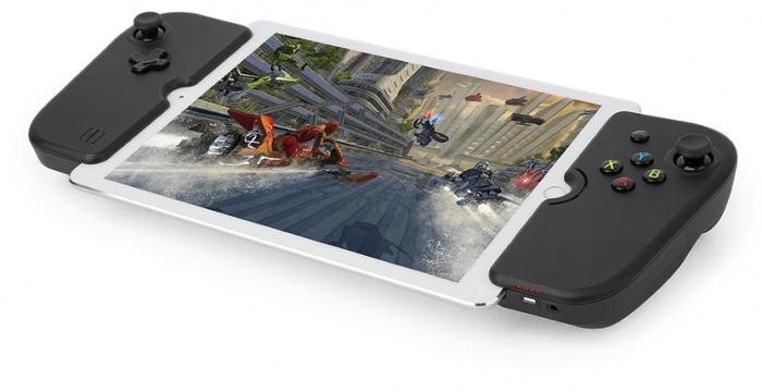 Controles da Gamevice para iPad