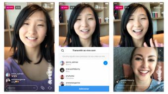 Como convidar um amigo para fazer um ao vivo no Instagram