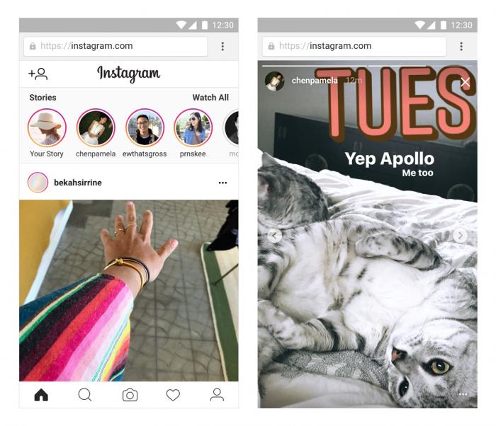 Ahora tiene historias de Instagram en versión web