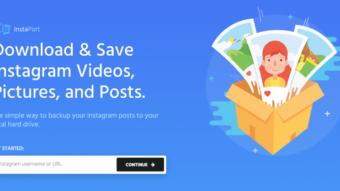 Como fazer backup das fotos do Instagram