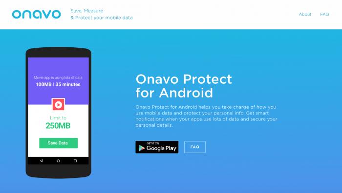 Onavo para Android