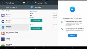 Como sair do Facebook Messenger no Android ou iPhone