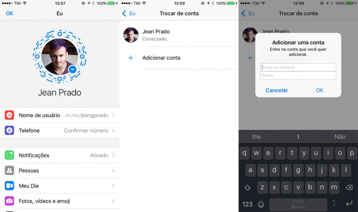 Como sair do Facebook Messenger no Android ou iPhone – Celular