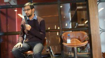 CEO do Google fala do retorno da empresa à China pela primeira vez