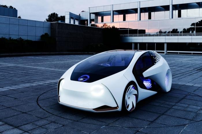 Carro-conceito da Toyota apresentado na CES 2017