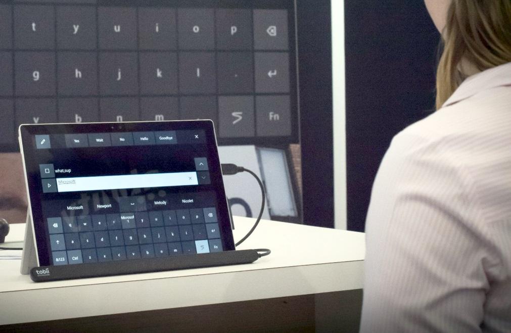 Windows 10 obtiene soporte de seguimiento de ojos nativos