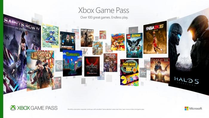 Xbox Game Pass Variety