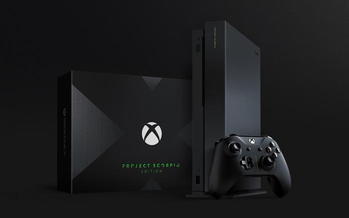 Xbox One X Project Scorpio Edition / diferença entre ps4 e ps4 pro