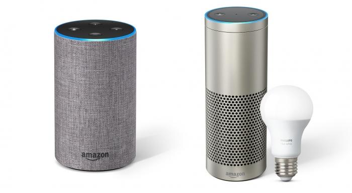 Echo de segunda geração e Echo Plus