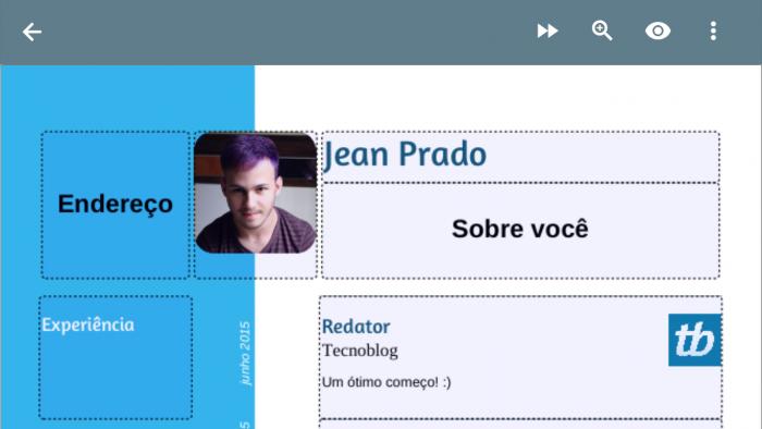 4 Aplicativos Com Modelos De Curriculo Pronto No Celular Tecnoblog