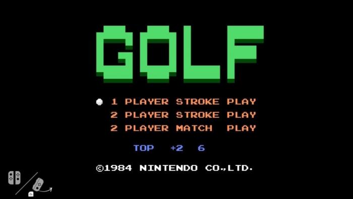 Golf - NES
