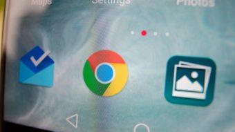 Google Chrome expande modo escuro em testes no Android