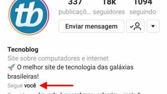 Ficou mais fácil saber se alguém está seguindo você no Instagram