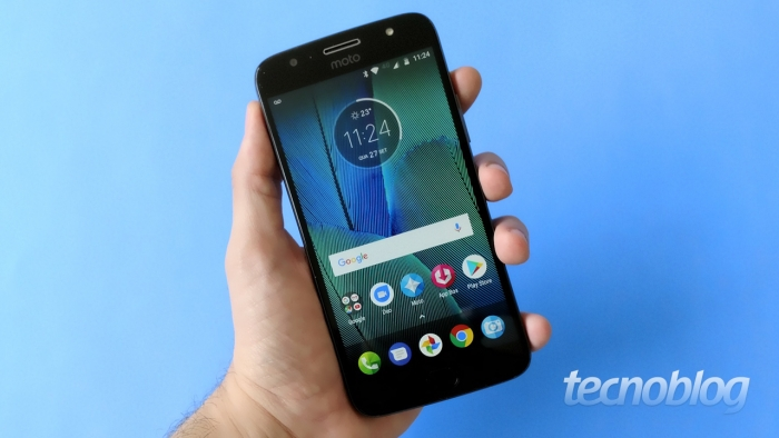 Motorola Moto G5 (Imagem: Tecnoblog)
