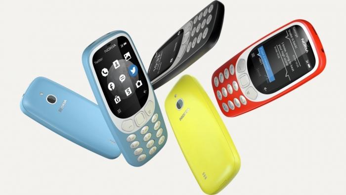 Nokia 3310 (2017) tiene 3G y más memoria interna