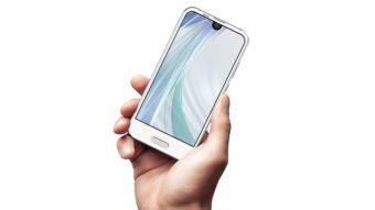 Sharp Aquos R Compact é um smartphone com bordas mínimas e tela menor