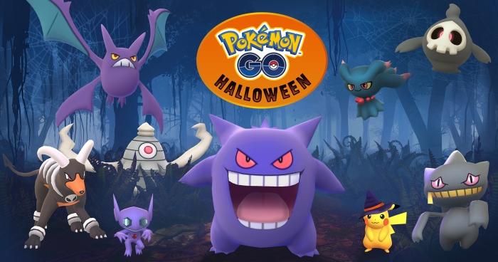 'Pokémon Go' anuncia evento de Halloween com monstros da terceira geração