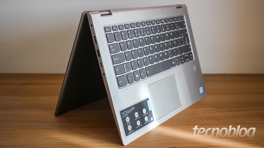 a2db78420 Review Lenovo Yoga 520  um quase intermediário  análise vídeo ...