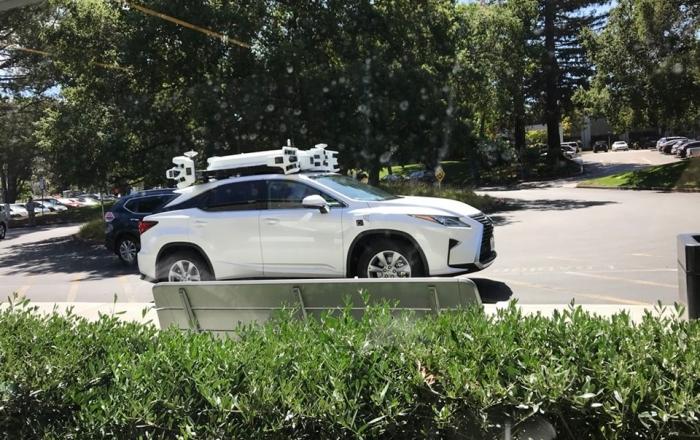 Lexus de teste da Apple