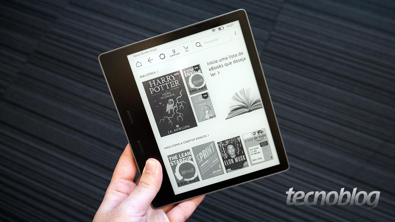 f7bd6d0336d44 Prestes a completar dez anos de mercado, o Kindle ganhou uma atualização,  mas talvez não seja um modelo que você queira comprar  trata-se da segunda  geração ...