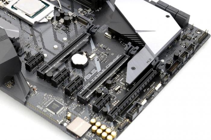 Placa-mãe com PCI Express