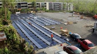 Esta é a primeira rede de energia solar que a Tesla montou para ajudar Porto Rico