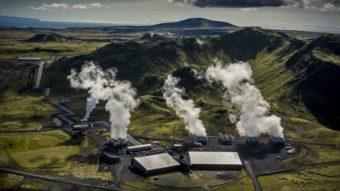 Esta é a primeira usina elétrica com emissão negativa de dióxido de carbono