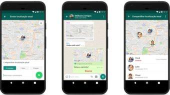 Como mandar a sua localização pelo WhatsApp