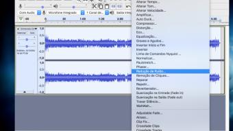 Como remover o ruído de um áudio pelo Audacity