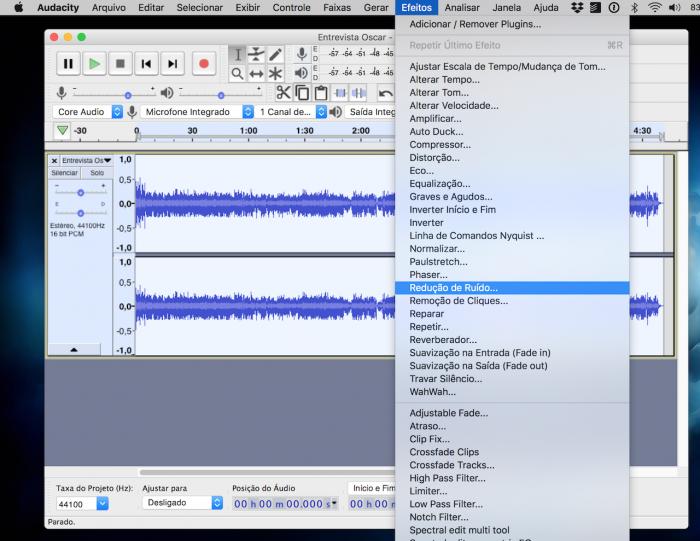 Como remover o ruído de um áudio pelo Audacity – Aplicativos