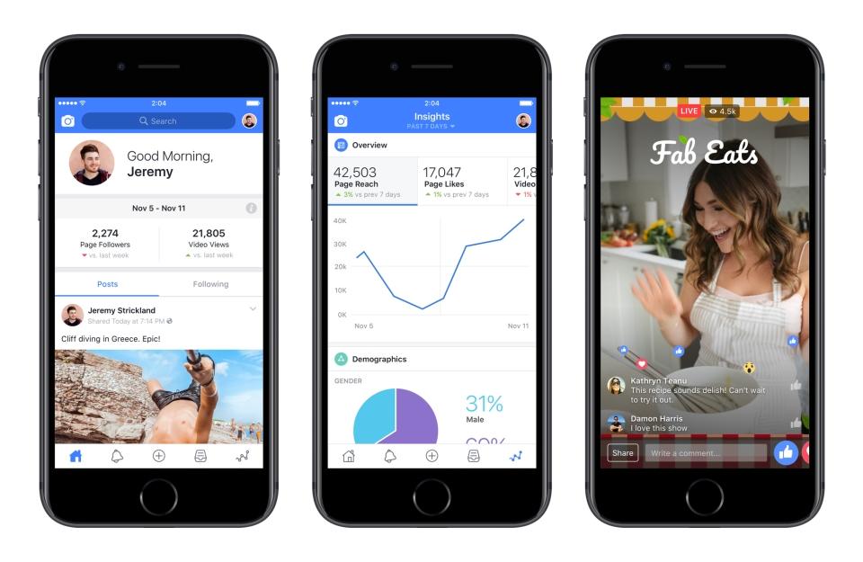 Facebook oferece novas ferramentas para criadores