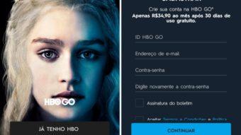 Você já pode experimentar o HBO Go sem ter assinatura de TV paga