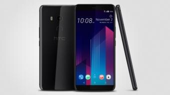 HTC U11+ é um smartphone apertável com bordas pequenas e bateria grande