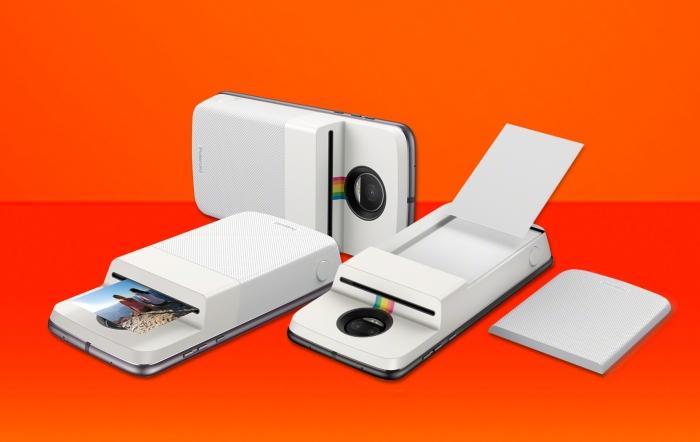 Motorola e Polaroid apresentam o novo Moto Mod Insta