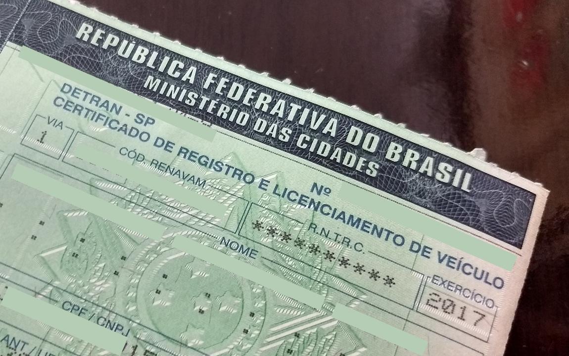 Licenciamento do carro ganhará versão digital para celular
