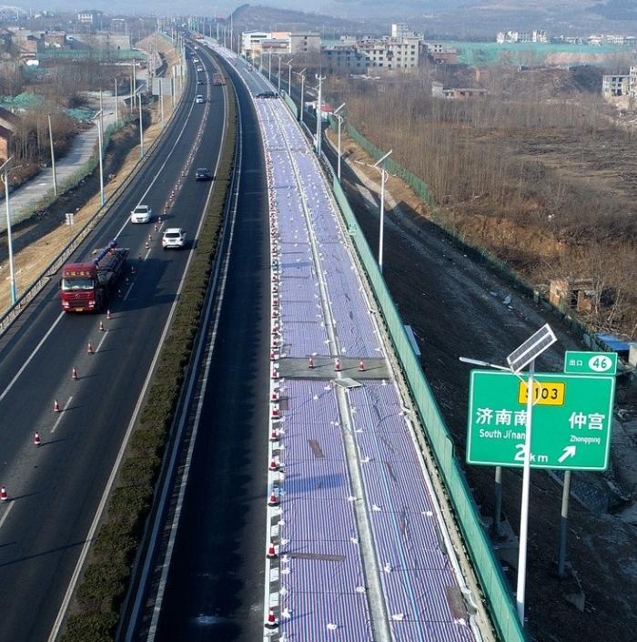 China terá superestrada solar com carga automática de carros até 2022