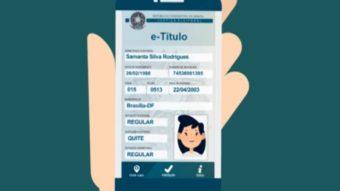Você pode usar o aplicativo E-título para votar nas próximas eleições com o titulo de eleitor digital