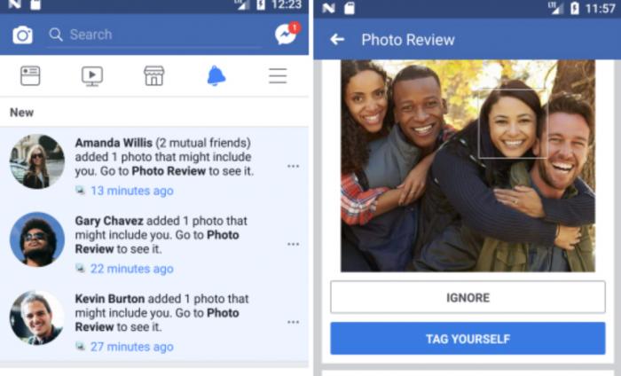 Facebook avisará usuários quando fotos em que aparecem forem postadas