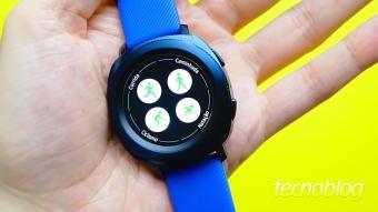 Samsung Gear Sport: fazendo jus ao nome