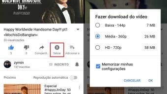 YouTube testa recurso para salvar vídeos offline no Brasil