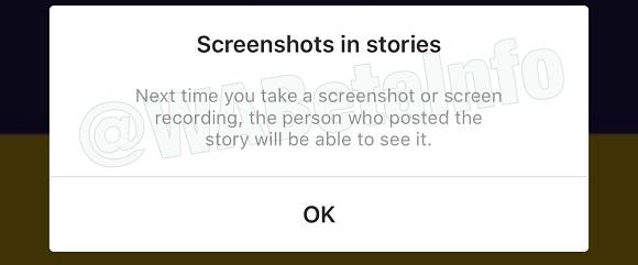 Instagram también deducirá quién usa la grabación de pantalla en historias