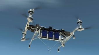 Boeing mostra drone que transporta mais de 200 kg