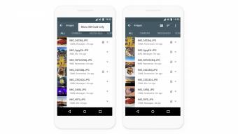 Files Go, gerenciador de arquivos do Google, melhora suporte a cartões de memória
